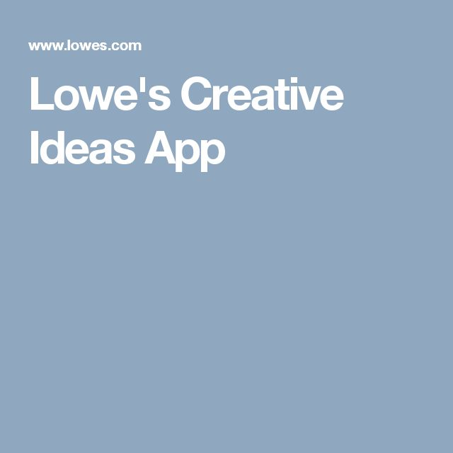 1000 ideas about lowes creative on pinterest gardening solar spot lights and patio planters - Lowes creative ideas app ...