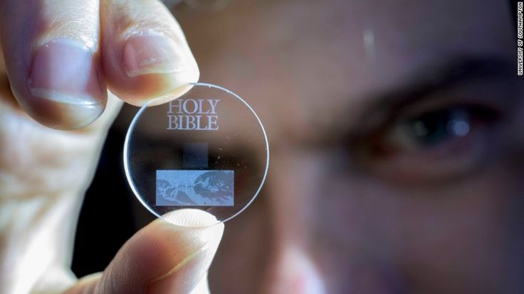 Researchers in the U.K. have developed a way of storing digital data inside tiny structures contained in Quartz crystals that can last for billions of years.