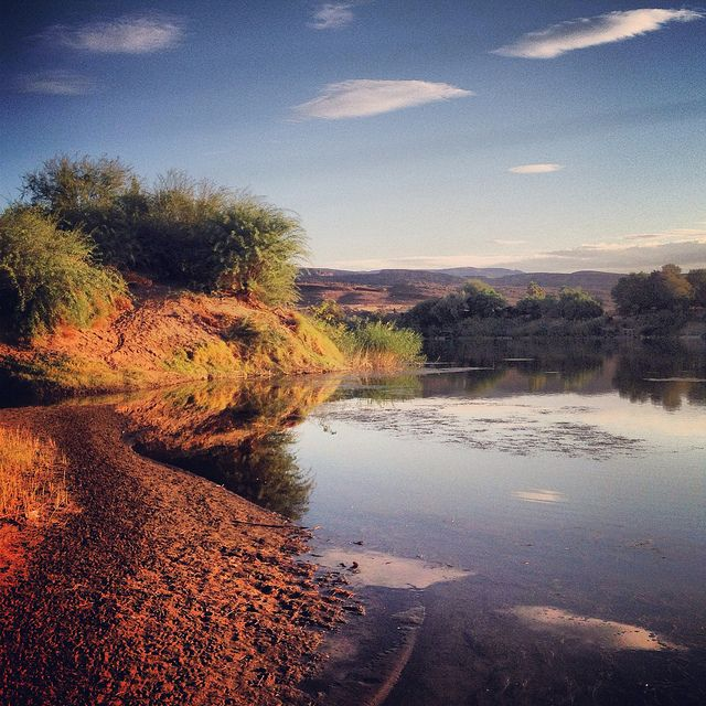 Orange River, Northern Cape, South Africa - photo by @Uncornered Market