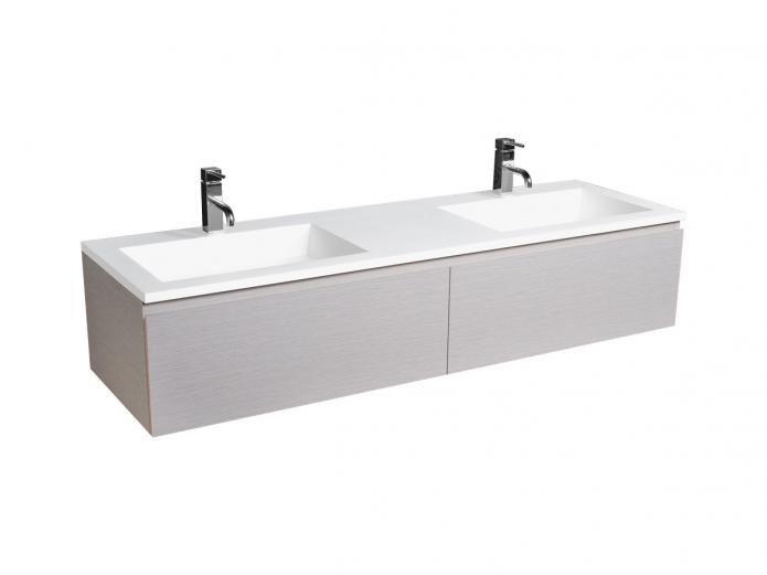 cibo tasco 1500 wall hung vanity, basin included . Reece $3240.99 inc gst.