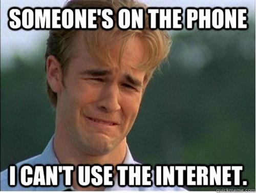 90s first world problems