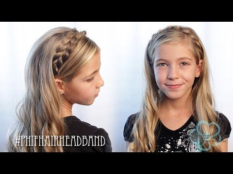 How To: Braided Hair Headband | Pretty Hair is Fun - YouTube Braid Hairstyles, Braids, braids tutorial, braids for short hair, braids for short hair tutorial, braids for long hair, braids for long hair tutorials, braids dutch, braids dutch tutorial, braids diy, braids hair, braids hairstyles, braids hairstyles tutorials, braids hairstyles tutorials easy,...