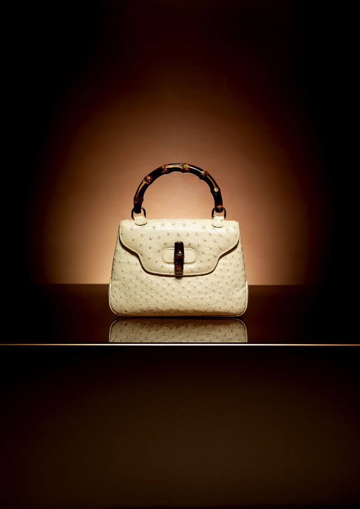#FreeShipping, From the Archive: Bamboo handle bag, ivory ostrich, early 1960s, #CheapGucciHub http://www.youtube.com/watch?v=9TXdkOFDkNs
