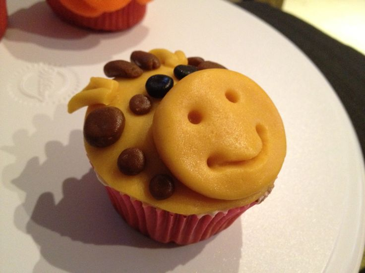 Jiraff cupcake