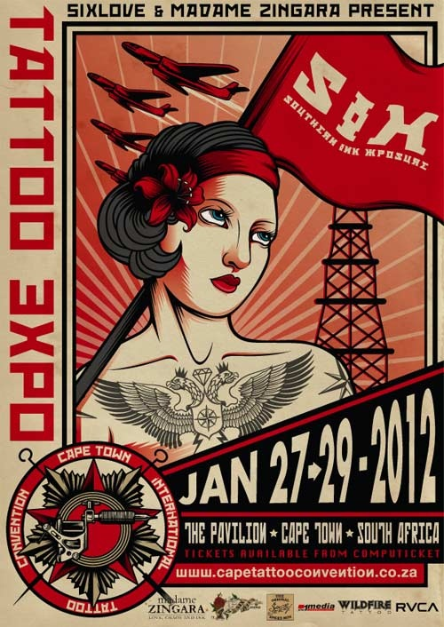 Cape Town Tattoo Convention 2012