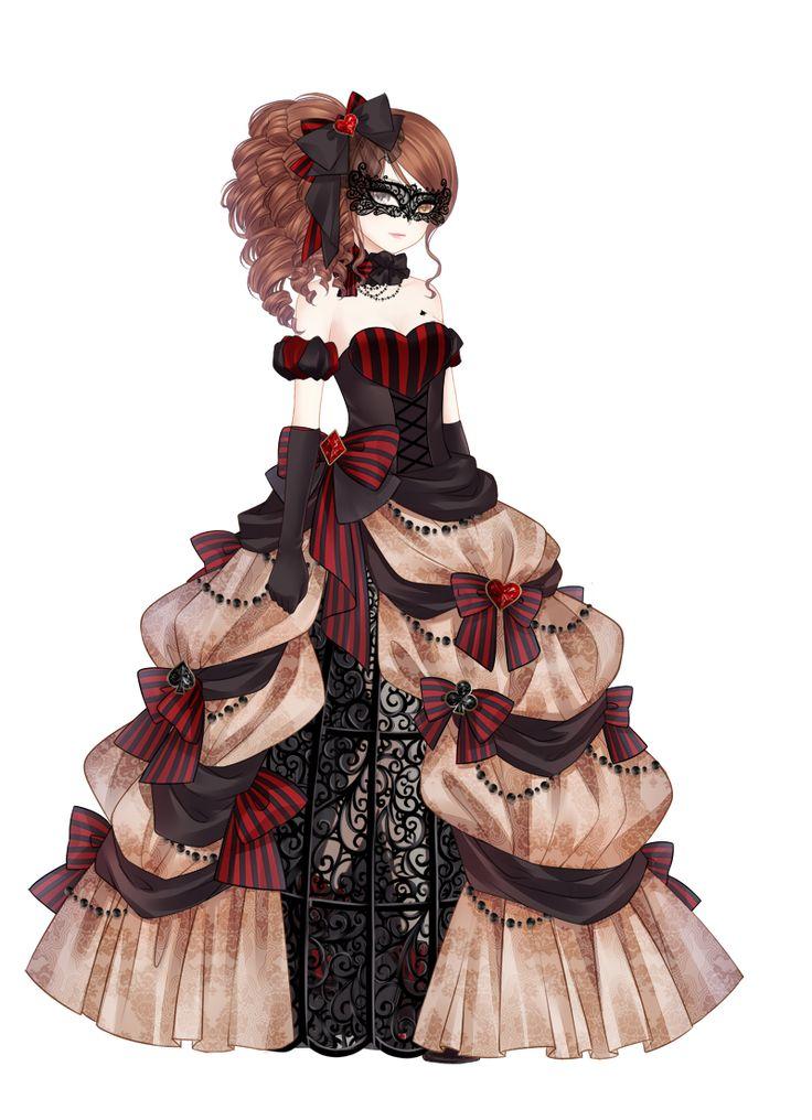 Masquerade Anime Girls Pinterest Masquerades Anime