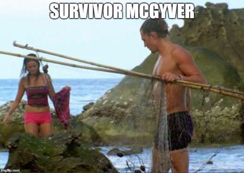 survivor mcgyver meme - Survivor, Survivor Cambodia, Joe Anglim
