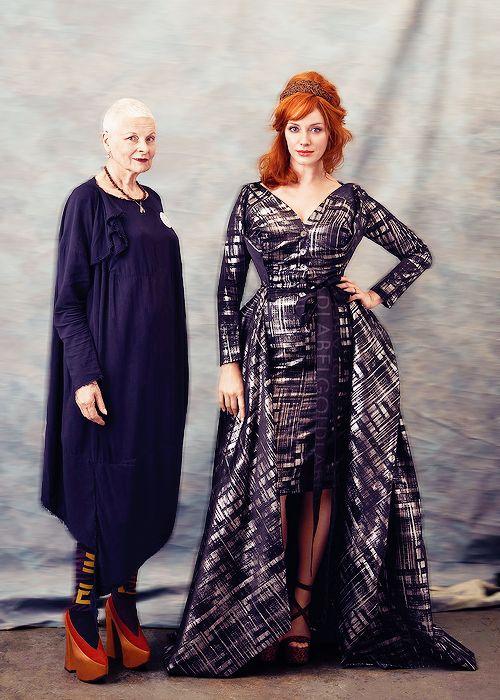 Vivienne Westwood &  Christina Hendricks