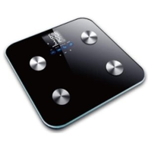 This is a great bathroom scale. Weight is measured to the nearest tenth of a pound and is quite accurate. The scale is fairly easy to set up and will provide additional measurements for: % body fat; % water composition; % muscle composition and bone ratio. While these measurements have greater fluctuation and less accuracy than the weight measurement, they are useful as trend indicators. $46.95 amzn.to/AbykpY