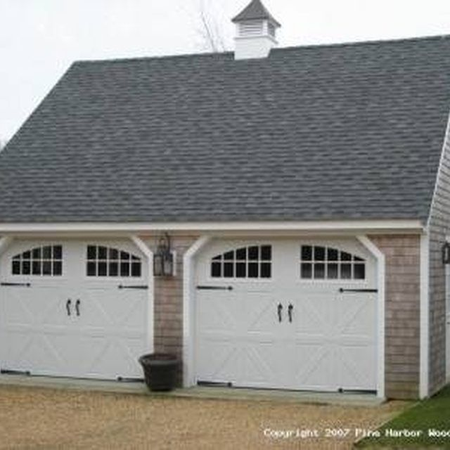 18 best garage images on pinterest garage driveway for Two car garage cost estimate