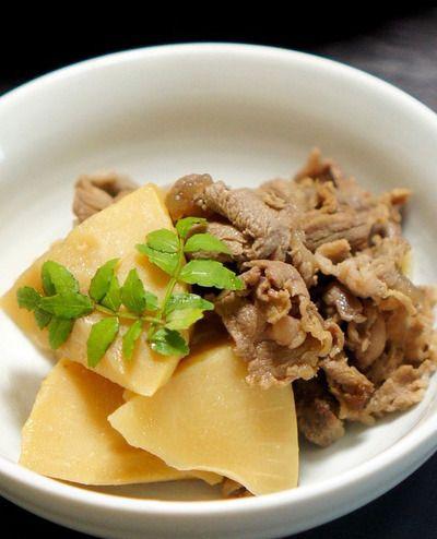 筍と牛肉の煮物 レシピ ♬ by manngoさん | レシピブログ - 料理ブログ ...