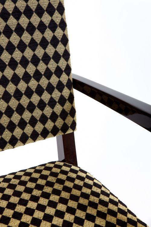 Pair of chairs, 1940 - 1949, ebony