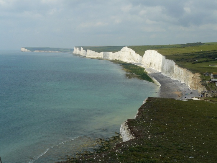 Seven Sisters Cliffs, near Seaford, East Sussex, England