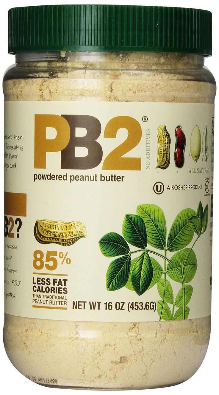 Bell Plantation Pb2 Powdered Peanut Butter, Wt 16 Oz