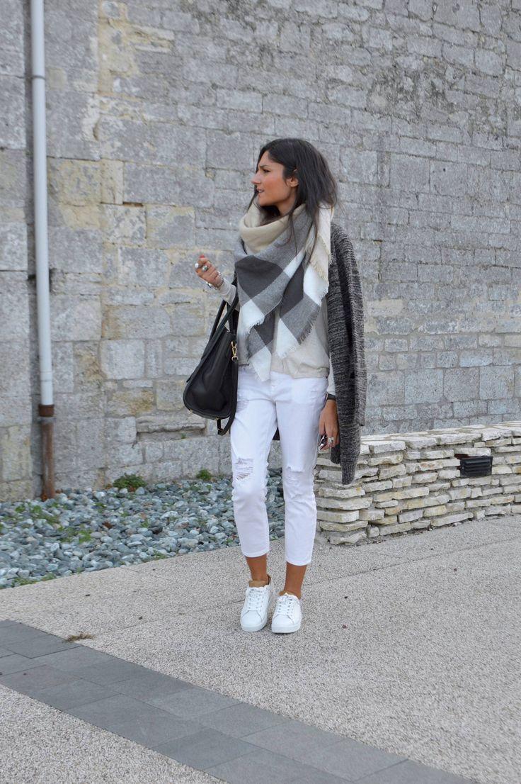 25 beste idee n over witte jeans op pinterest witte jeans zomer witte broek en witte jean vest. Black Bedroom Furniture Sets. Home Design Ideas