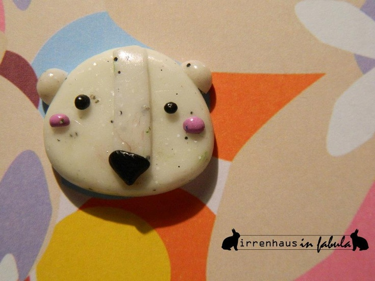 Mr. Polaretto - hand made with polimer clay    http://www.facebook.com/profile.php?id=100002810930671