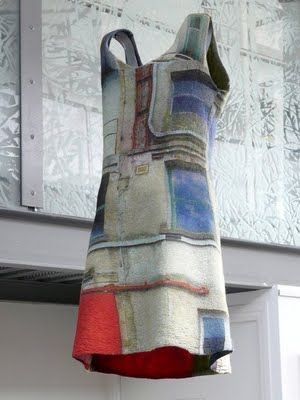 Feutre Art Textile: Exposition au Musée du Feutre, Françoise Hoffmann