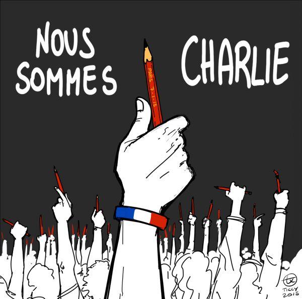 Translation: We are Charlie. (via Ticcy's Randomness Tumblr blog)