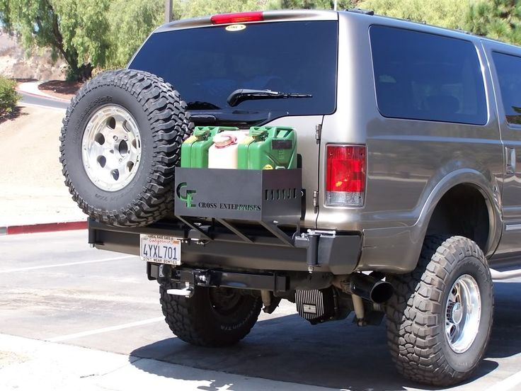 Excursion Swing Out Tire Carrier Www Ford Trucks Com