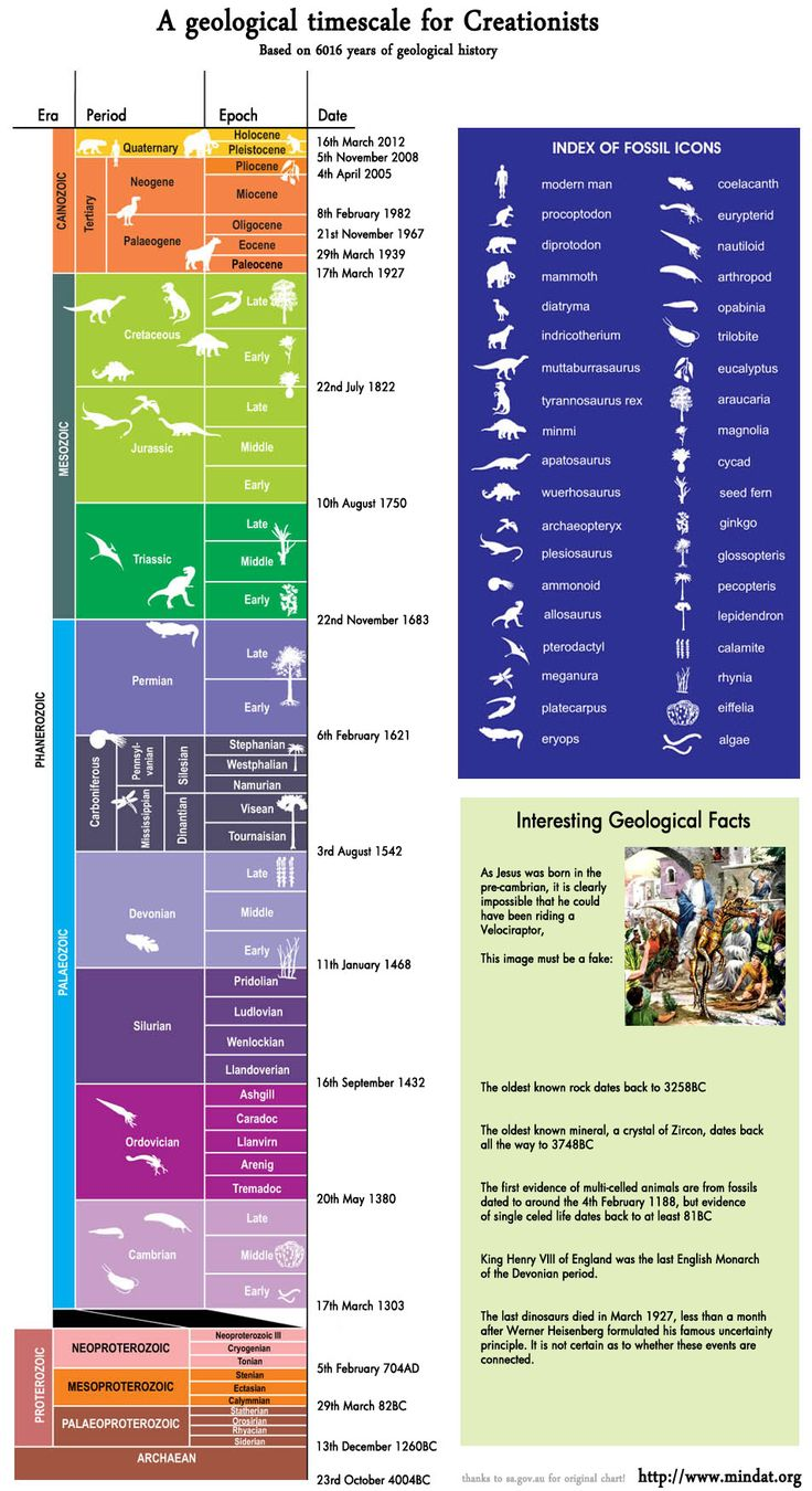 When Geological Timescales and a Young Earth are Superimposed