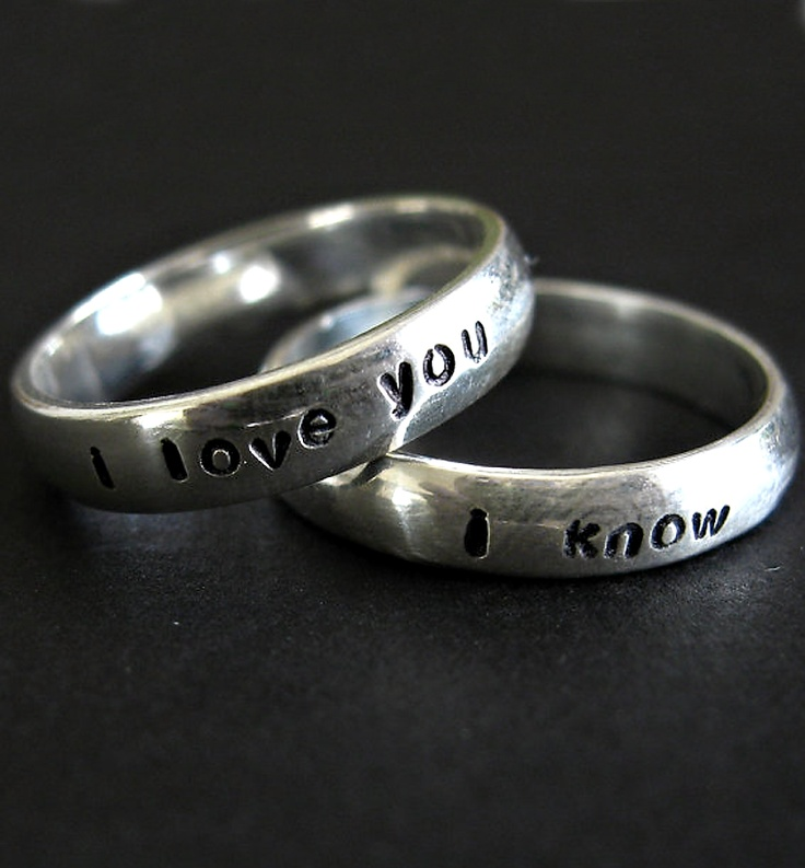 most awesome wedding rings ever starwars - Creative Wedding Rings