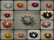 More Lotus tea light holders :0)