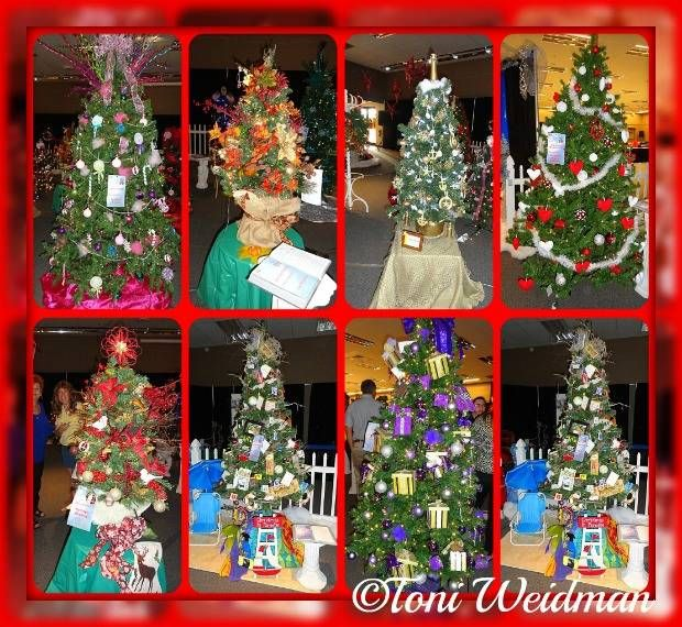 Good Samaritan Clinic Festival of Trees 2015. Trees are auctioned on Friday. Toni Weidman, Florida Luxury. http://weidmanteam.com/good-sam-festival-of-trees-2015/