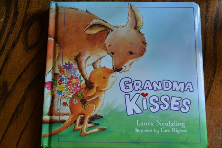 Grandma Kisses Board Book Review & Giveaway  This book is a perfect gift for a new Grandma to be! What do your kids love about going to Grandmas house? Unfortunately we live far away from our relatives and my kids havent gotten to experience going to Grandmas house very often in their lives.