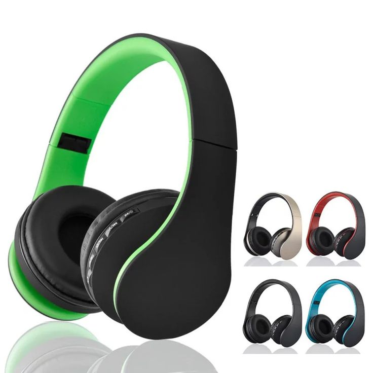 Andoer Digital 4 in 1 Stereo Bluetooth 3.0 EDR Headphones Wireless Headset Music with Micphone For iphone Samsung Free Shipping