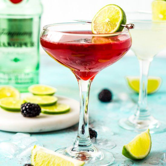 This Gimlet recipe is a classic cocktail made with gin, lime juice, simple syrup, and club soda for a light and refreshing beverage.