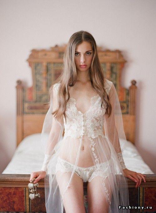 Claire Pettibone, коллекция нижнего белья Heirloom / фотографии нижнее белье