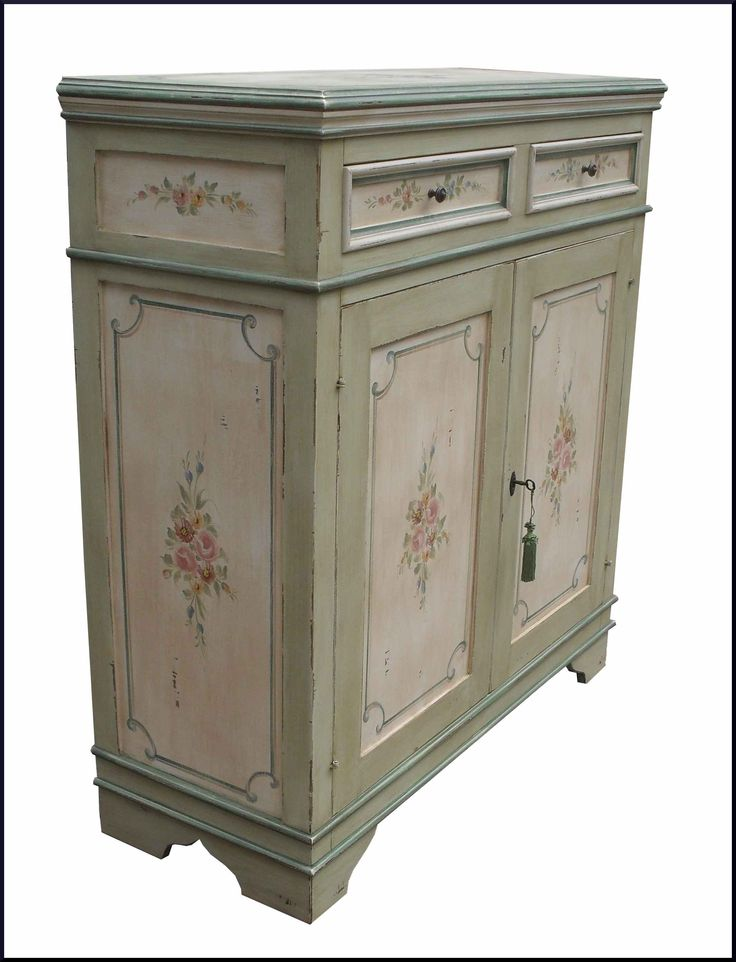 36 best images about mobili dipinti a mano on pinterest credenzas piccolo and piano - Mobili decoupage ...