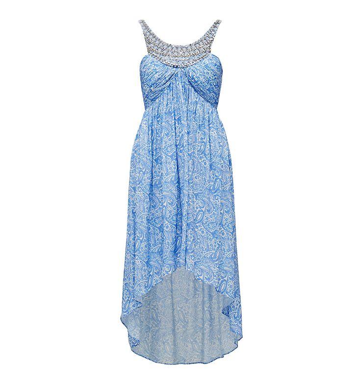 Esther embellished neck dress - Forever New
