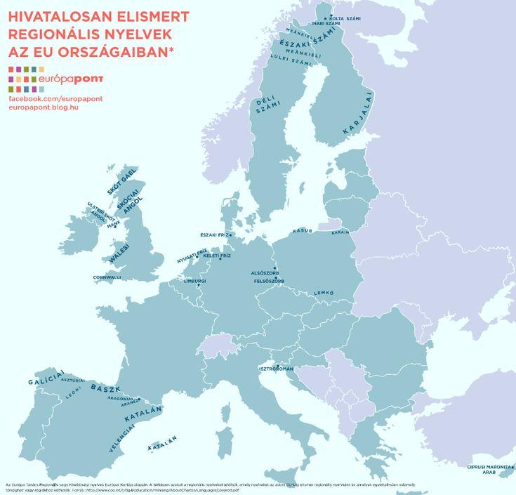 Nyelvi sokszínűség az EU-ban – hivatalos regionális és kisebbségi nyelvek a tagállamokban http://europapont.blog.hu/2016/03/16/nyelvi_sokszinuseg_az_eu-ban_hivatalos_regionalis_es_kisebbsegi_nyelvek_a_tagallamokban