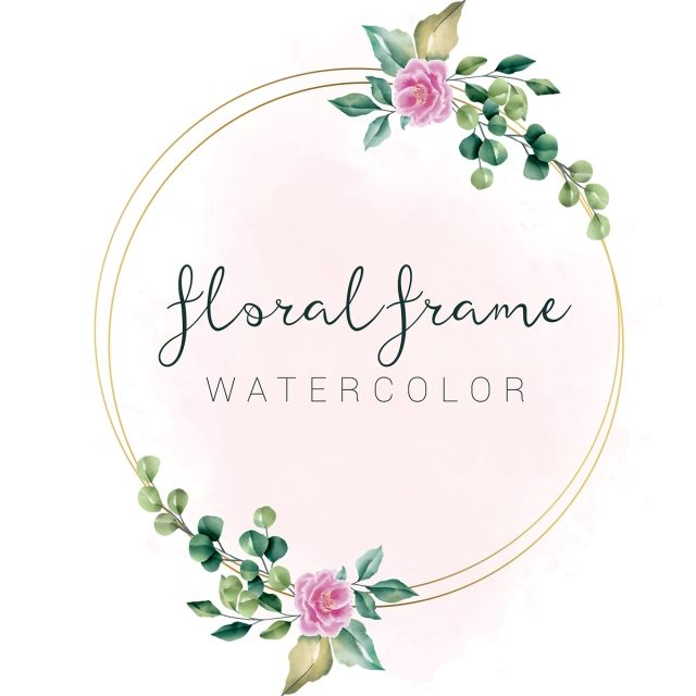 Beautiful Circle Shape Flowers Leaves Floral Frame Vector Floral Clipart Floral Frame Vector Floral Frame Png And Vector With Transparent Background For Free Marcos Florales Circulo De Flores Clipart