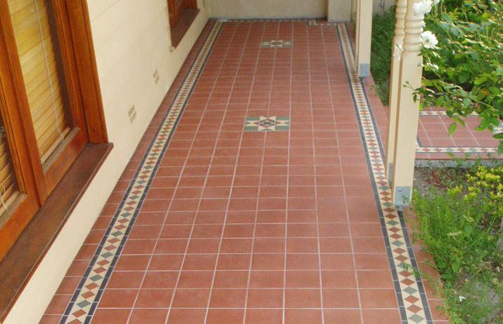 Artistic Tile Design: period tiles, renovations, tessellated bathroom and verandah tiles, embossed ceramic border tiles