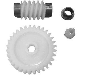 Linear HAE00006 HAE00047 Garage Door Opener Helical Gear and Grease by Linear. $10.05. Linear Helical Gear and Grease HAE00006 for Linear Garage Door Openers Includes: Helical Gear Grease Screws Misc small parts Compatible With: Linear garage door opener models: •LSO50 •LDO33 •LDO50