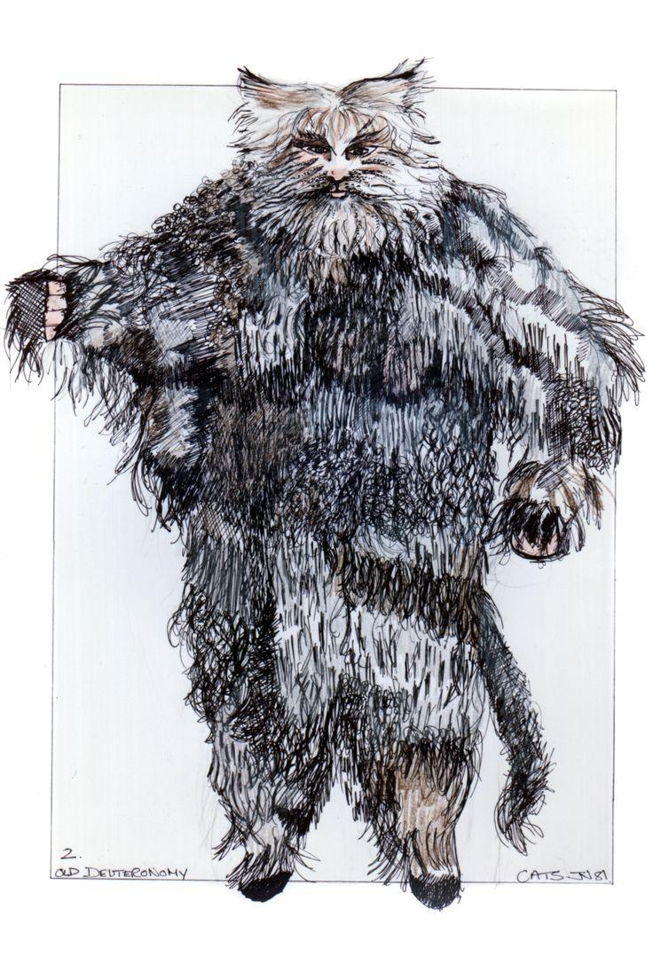 Old Deuteronomy original costume design, John Napier