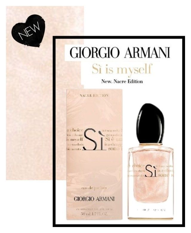 New Limited Edition Armani Si Nacre Put Some Sparkle Into Your