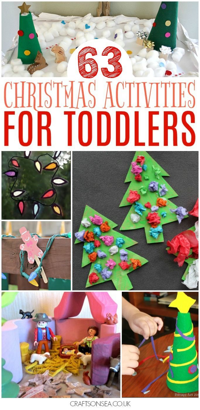 Over 60 Fantastic Christmas Activities For Toddlers With Inspiration For Christmas Crafts Easy Christmas Crafts Christmas Crafts For Toddlers Toddler Christmas
