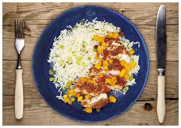 """Feuriges Jamaikanisches """"Jerk Chicken"""""""