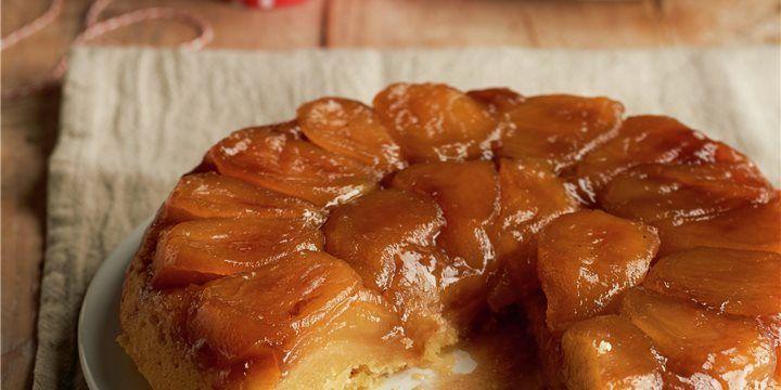 Tarta Tatin Tarta Con Manzanas Caramelizadas Receta Tarta Tatin Manzana Caramelizada Tarta Tatin Manzana