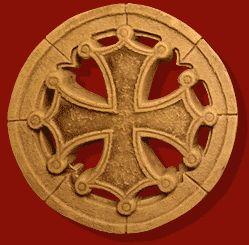 "#Sceau ""#Croix #Occitane"" (Petit #modèle. Symbole de l'Occitanie)"