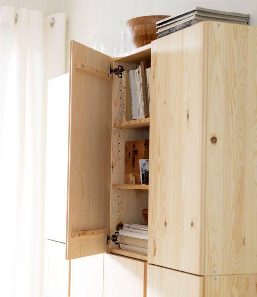 123 best ikea ivar images on pinterest book shelves. Black Bedroom Furniture Sets. Home Design Ideas