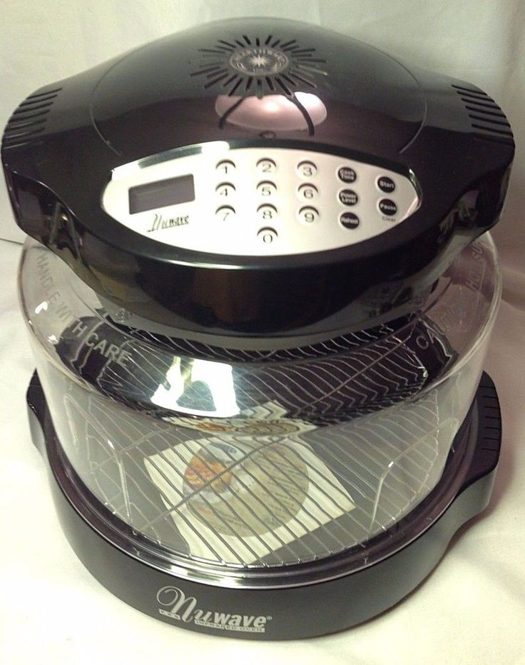 NUWAVE Pro Infrared Conduction Convection Countertop Oven Cooking Healthy NICE #NuWave