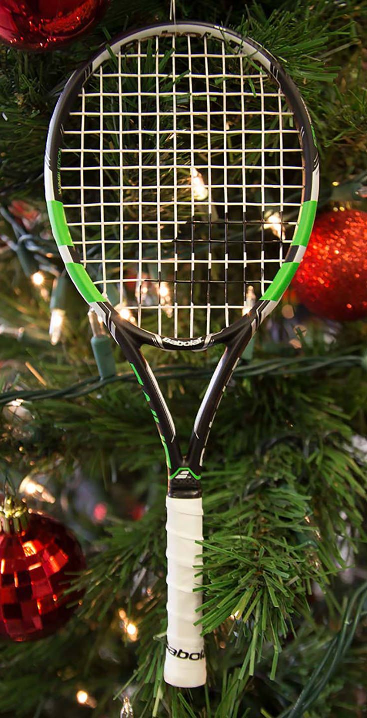 This Babolat Pure Drive Wimbledon mini tennis racquet makes a great gift for any tennis enthusiast today! This racquet is a miniature racquet and comes pre-strung. This racquet has a height of 10 inches and can be used as an ornament, conversation piece, or Wimbledon collectible! Shop more tennis gear at MidwestSports.com.