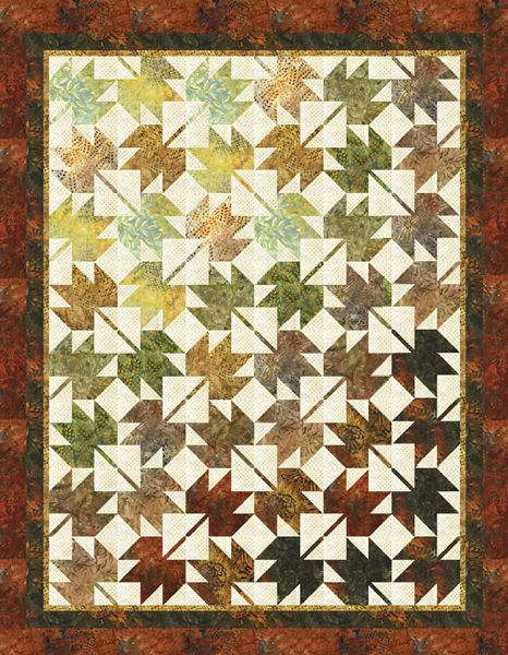 Quilt Template Leaves : 9 best images about Fall Quilts on Pinterest Fall harvest, Pumpkins and Maple leaves