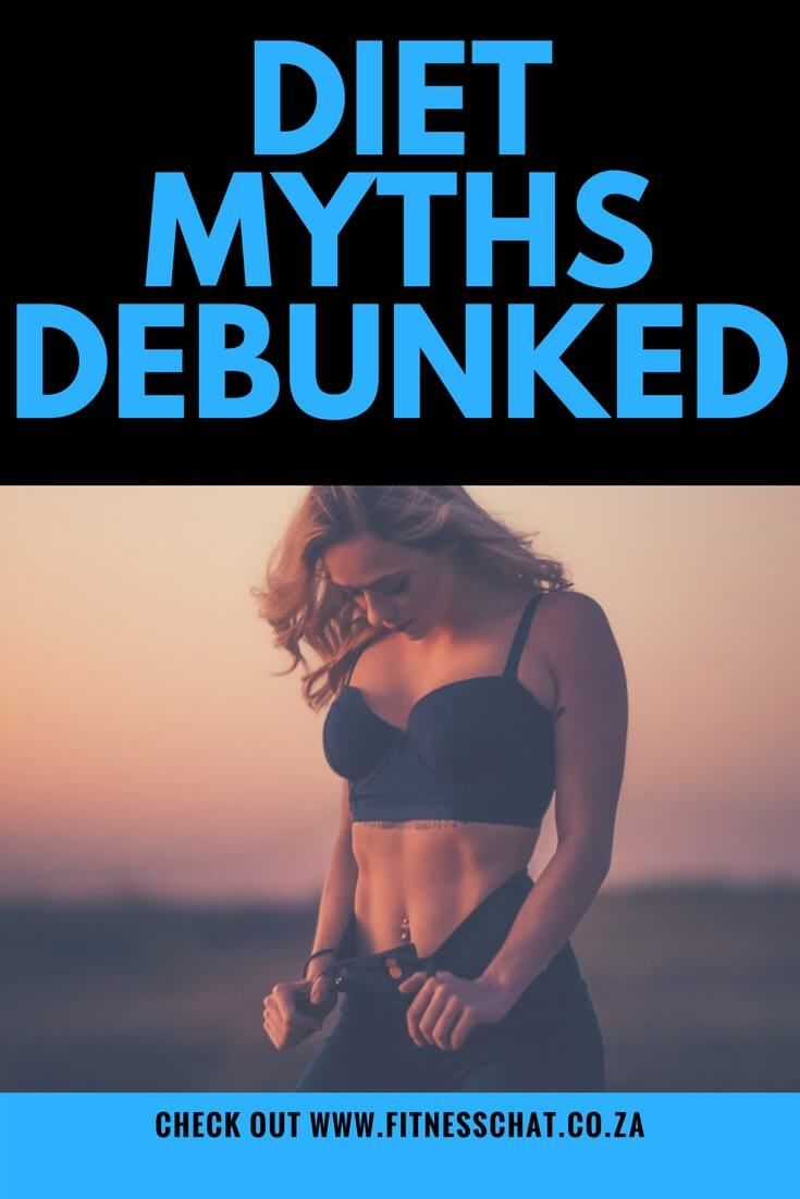 cf033087774 5 COMMON FITNESS MYTHS DEBUNKED