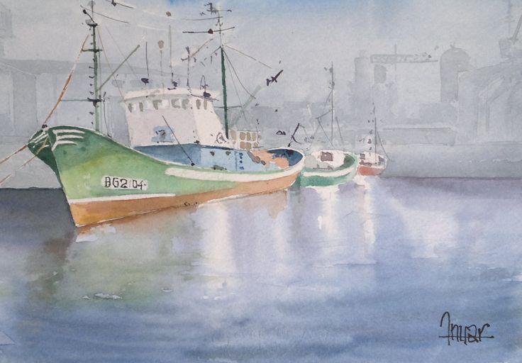 Barco verde II