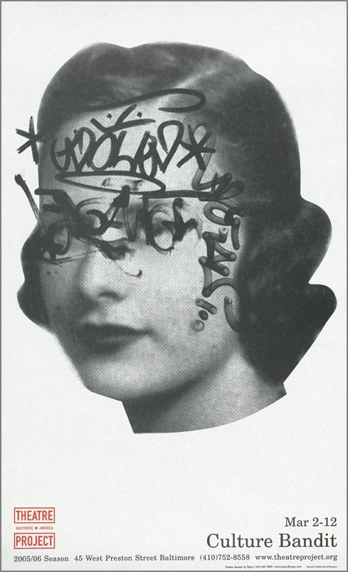 Vintage Theatre Poster - From Spurstor.com